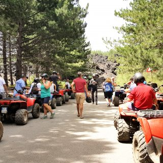Group tour Etna Quad
