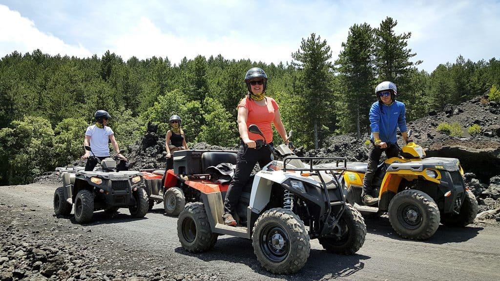 Etna quad mezzi - Polaris quad