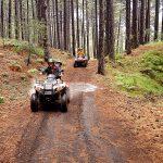 Etna quad pioggia - rain quad driving Etna