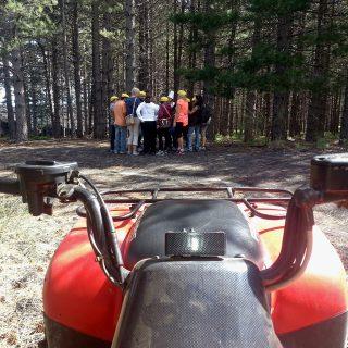 Etna quad teambuilding