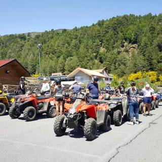 Group excursion Etna Quad - Etna Nord