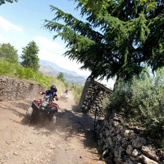 Alcantara Quad Tour off road