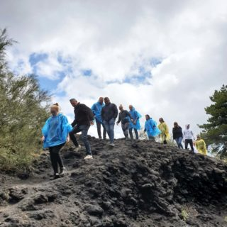 Camminare old crater - Pineta Ragabo - Etna Quad tour