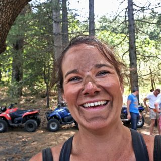 Dirty face - Quad driving - Etna Quad Adventure