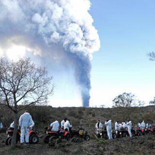 Esplosione Etna - Quad tour gruppo aziendale