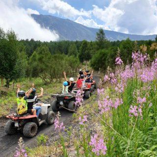 Etna quad tour fun