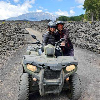 Etna volcano quad tour