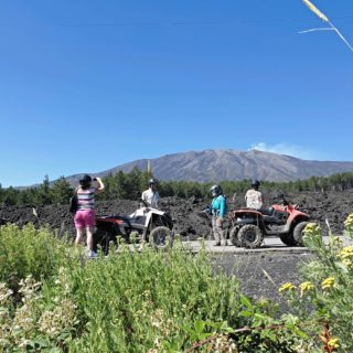 Etna vulcano Quad tour lava
