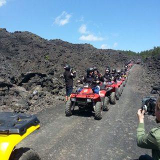 Gruppo Etna teambuilding - Etna Quad