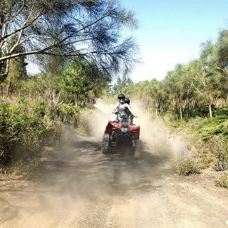 Guidare quad donne avventura Etna