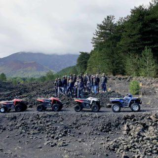 lava 1865 Etna quad tour
