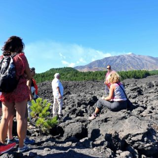 panorama lava 2002 quad tour Etna