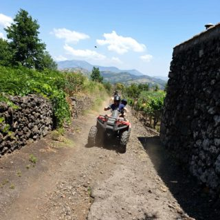 Quad Alcantara excursion tour