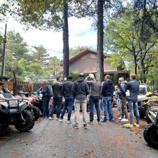 Spiegazione guidare quad - Etna Quad