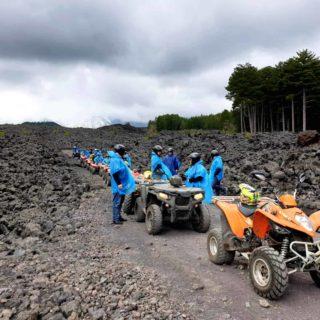 Teambuilding incentive  Etna quad escursione