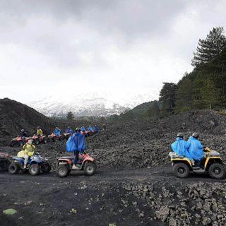 Vulcano Etna - quad escursione gruppo